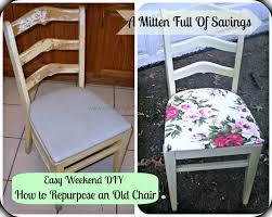 diy repurpose chair