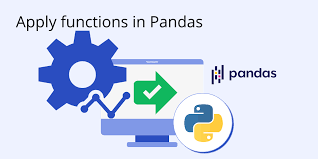 how to apply functions in pandas