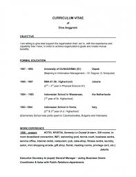 example resume examples of good objectives for resumes catchy objective resume how to write objectives for resume