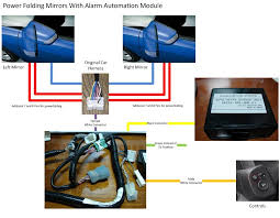 honda jazz wing mirror wiring diagram honda image diy 11 pin door mirror folding heated smart key unofficial on honda jazz wing mirror wiring