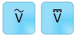 alternating current symbol. source: alternating current symbol