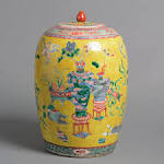 Qing Dynasty Yellow Porcelain