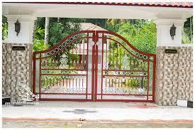 wall gates design kerala