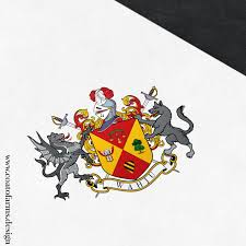 Design A Family Crest Coat Of Arms Family Crest I Designed For The Wahju Family