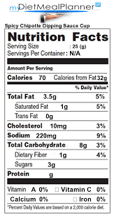 nutrition facts label por chain restaurants 65 perning to sprite food label 24694