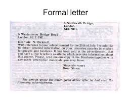 Formal Letters Personal Letters Ppt Video Online Download