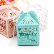 details about lovely birds diy candy box wedding favors paper gift pouch handmade decoration