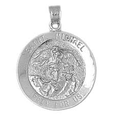 sterling silver 925 st michael pendant sterling silver pendants at jewelsobsession com