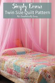 Best 25+ Twin quilt ideas on Pinterest | Quilt blocks, Modern ... & Simple Twin Size Quilt Pattern by Adamdwight.com