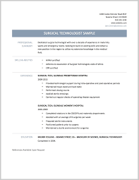 Technology Resume Best Surgical Tech Resume Sample 24 Resume Sample Ideas 22