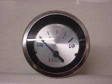 evinrude trim gauge boat parts teleflex sterling boat trim gauge~omc~evinrude johnson~suzuki 4 stroke~63483