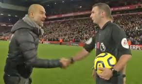 Liverpool host leicester as brendan rodgers returns to anfield for the first time in four years. What Man City Boss Pep Guardiola Said To Referee Michael Oliver After Liverpool Defeat Football Sport Express Co Uk