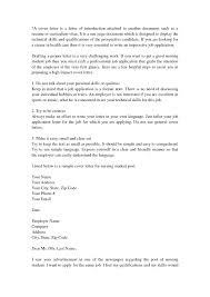 Cover Letter Examples For No Experience Sample In Resume Students