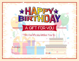 microsoft word birthday coupon template free birthday gift certificate template formal word templates