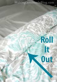 how to cover a duvet the easy way super simple trick to cover