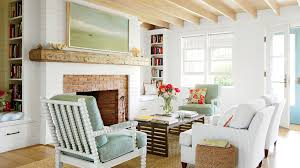informal green wall indoors. Easygoing Cottage Living Room Informal Green Wall Indoors O