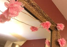 Paper Flower Garlands Make This Beautiful Paper Flower Garland By Rebecca Sachaj