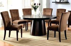 modern round glass dining table set room cool decor inspiration sets uk