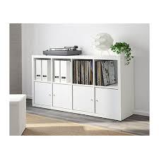 office storage ikea. Delighful Office 4 Of 6 IKEA Kallax Shelving Unit 77x147cm White Home Office Storage Living Inside Ikea S