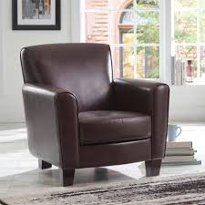 Living Room Club Chairs Better Homes And Gardens Ellis Club Chair Brown Walmartcom