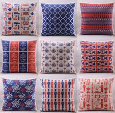 royal pillow drawing. london big ben crown royal guard uk flag cushion covers british style impression art cover pillow drawing