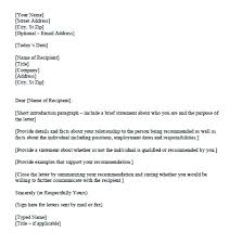 Personal Statement Examples For Court Character Letter Reference ...