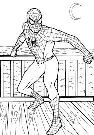 top 33 free printable spiderman coloring pages coloring pages spiderman kids boys and coloring books