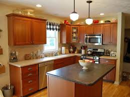 Cherry Bar Cabinet Kitchen Paint Colors With Cherry Cabinets Beige Marble Kitchen