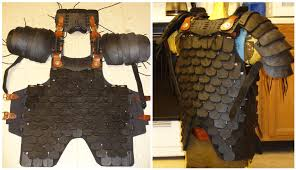Leather Armor Patterns Fascinating Armor Yoke To Carapace Attachment V48 By Demosthenes48blackops On