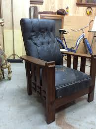 morris chair 1905 1 4 sawn oak called a the imperial automatic reclining