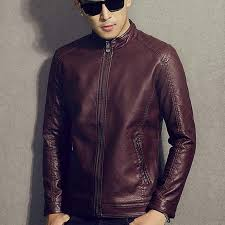 men genuine leather jacket teenage boy 2018 new spring and autumn thin slim short male moto cow leather jacket biker black uk 2019 from beenlo
