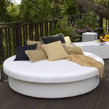 lafete designs sun pad outdoor sun round resort daybed  the mine