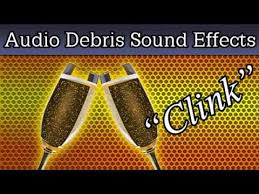 clinking glasses sound effect cheers toast attention