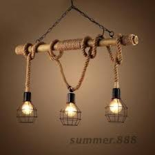 industrial cage lighting. Image Is Loading Rustic-Rope-Bamboo-Pendant-Light-Metal-Cage-Lamp- Industrial Cage Lighting