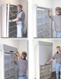 person locking door. Picture_5. Locking Rolling Doors Person Door