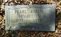 Pearl Aman Thompson (1892-1975) - Find A Grave Memorial