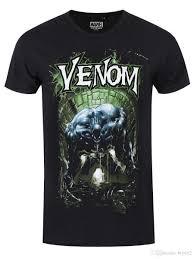 Marvel Comics Venom канализация мужская черный футболка симпатичные татуировки любовник