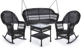 trees and trends furniture. Erwin \u0026 Sons Antigua 4pc Swing Seating Set 3 Ebony Trees And Trends Furniture E