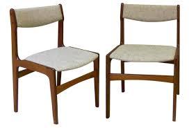 danish teak dining table elegant 6 teak dining chairs erik buch danish modern od mobler model
