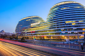 famous modern architecture. Perfect Modern Download Beijing Famous Modern Architecture Galaxy SOHO Night View In  China Editorial Stock Image  With H