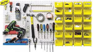 Pegboard storage bins Hooks Pegboard Storage Good Balance Of Open Areas And Small Containers Google Search Pinterest Pegboard Storage Good Balance Of Open Areas And Small Containers