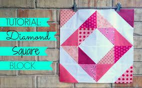TUTORIAL: Diamond Square Block - YouTube &  Adamdwight.com