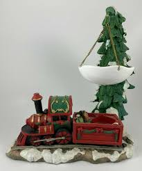 Yankee Candle Christmas Tree Lighting Yankee Candle Hanging Wax Tart Warmer Burner Christmas Train Snow Capped Tree