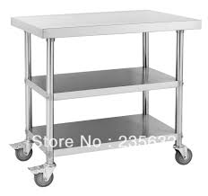 Work Table For Kitchen Stainless Steel Kitchen Work Table Modest Exterior Home Office On