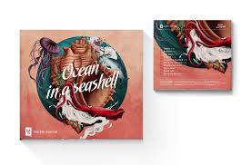 Seashell Design Ocean In A Seashell Album Design On Behance
