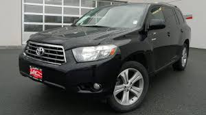 SOLD) 2008 Toyota Highlander Sport Preview, At Valley Toyota Scion ...