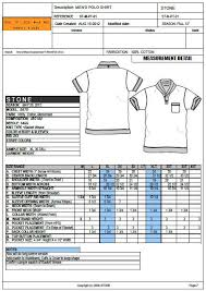 Polo T Shirt Size Chart Pin By Nagashri On Chimu Polo T Shirts Shirts Tech Pack