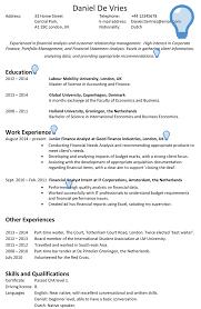 Uk Cv Sample 1 Careerprofessor Works