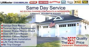 dallas garage door repairVeteran Garage Door Repair Dallas  No Drive Up Fee same Day Service