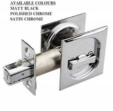 cavity sliding door handle sets square design function page and privacy available in 3 finish options